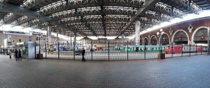 Казанский вокзал Москвы: