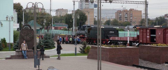 На рижском вокзале москвы